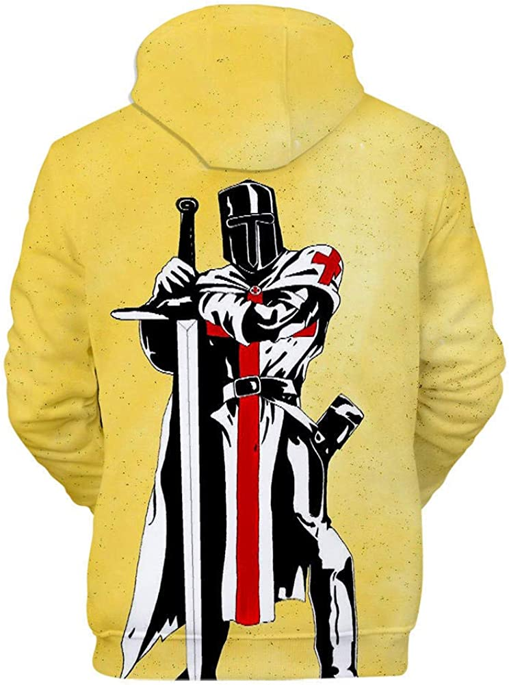 Knights Templar Disfraz de Caballero Templario Sudadera con ...