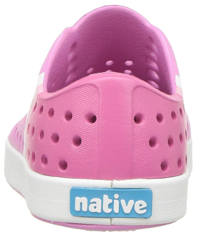 Malibu Pink//Shell White//Gradient Block Print Native Kids Jefferson Block Child Water Shoe 4 Medium US Toddler