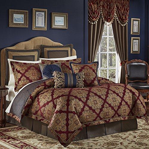 Comforter Croscill Jacquard (Croscill 2AM-004O0-1441/610 Sebastian King Comforter Set)