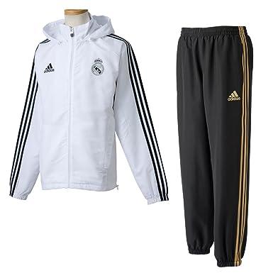 Adidas Chandal PRE Real Madrid: Amazon.es: Deportes y aire libre