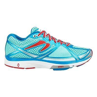 Amazon.com | Newton Running Women's Kismet III Baby Blue/Ruby Athletic Shoe  | Tennis & Racquet Sports