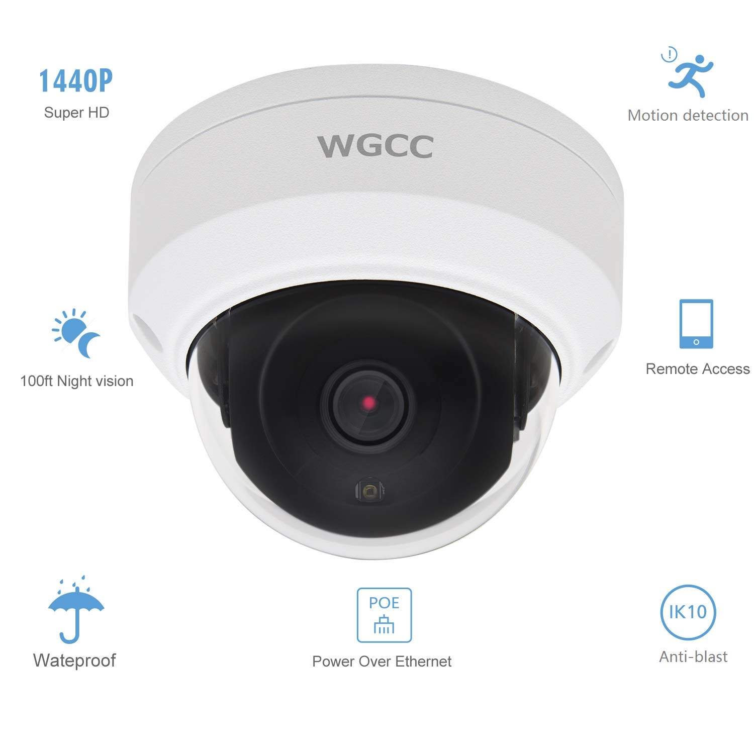 3840x2160 Supports WGCC//HIKVISION//Dahua//Amcrest POE Camera 866872 NO HDD WGCC 4-Channel 8MP Embedded Plug /& Play Network Video Recorder H.265 with 4K 4 PoE Ports Up to 8TB