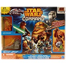 Star Wars Command Epic Assault Figures & Vehicles Playset: Rancor Revenge with Jabba the Hutt