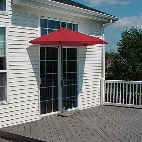 Red 7.5' Olefin Umbrella - 2