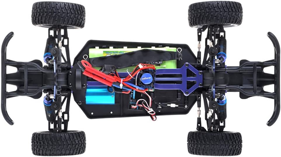 8677809910 Exceed RC 1/10th 2.4Ghz Brushless Rally Monster Electric RTR Racing Truck (AA Green) 61wLPRDdo7L.SL1000_