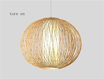 Kronleuchter Fufu Pendelleuchten Kreative Bambus Lampe Bambus