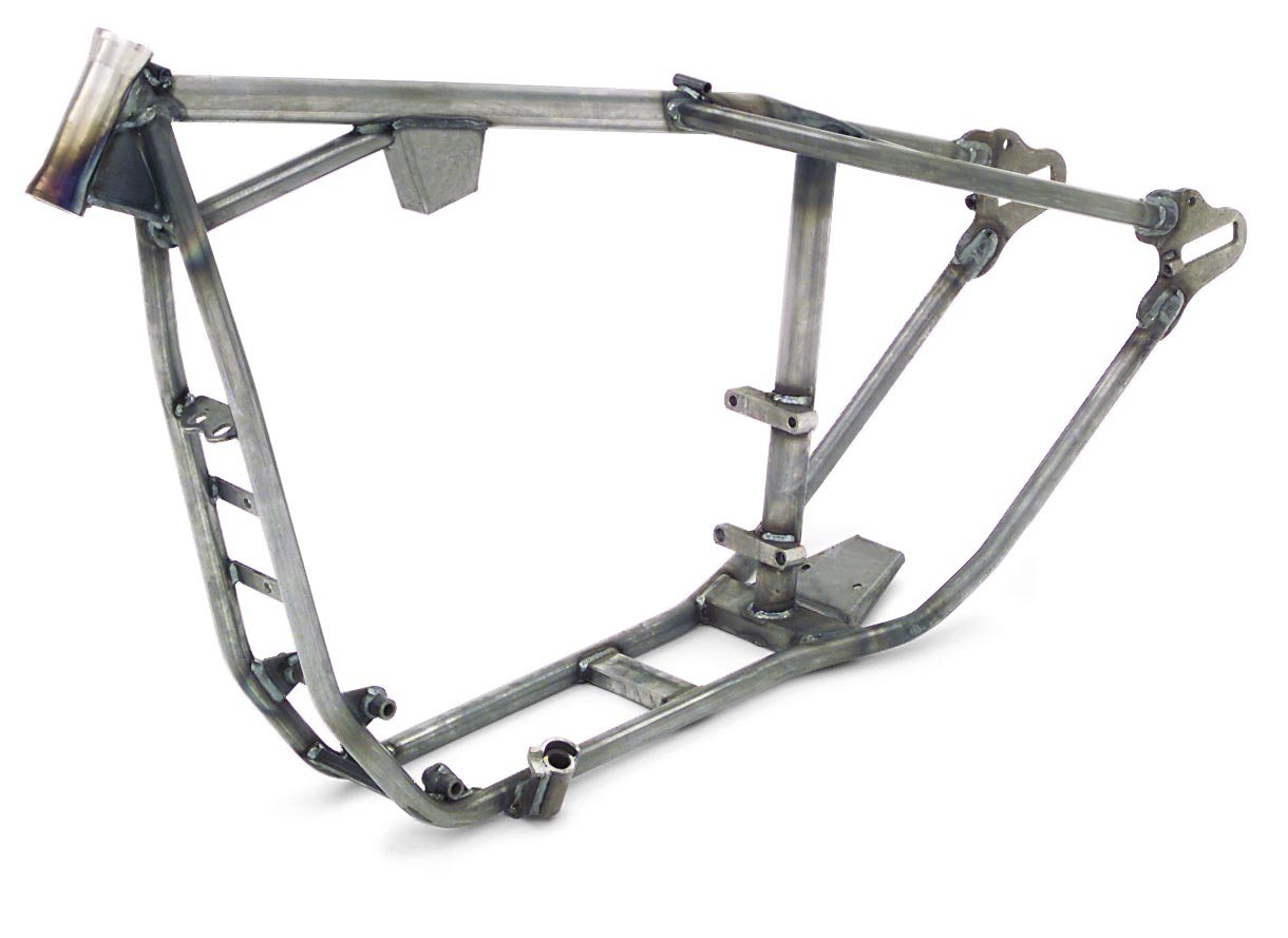 paughco rígido marco 35 DEG rastrillo acero para Harley XL 86 - 03 ...