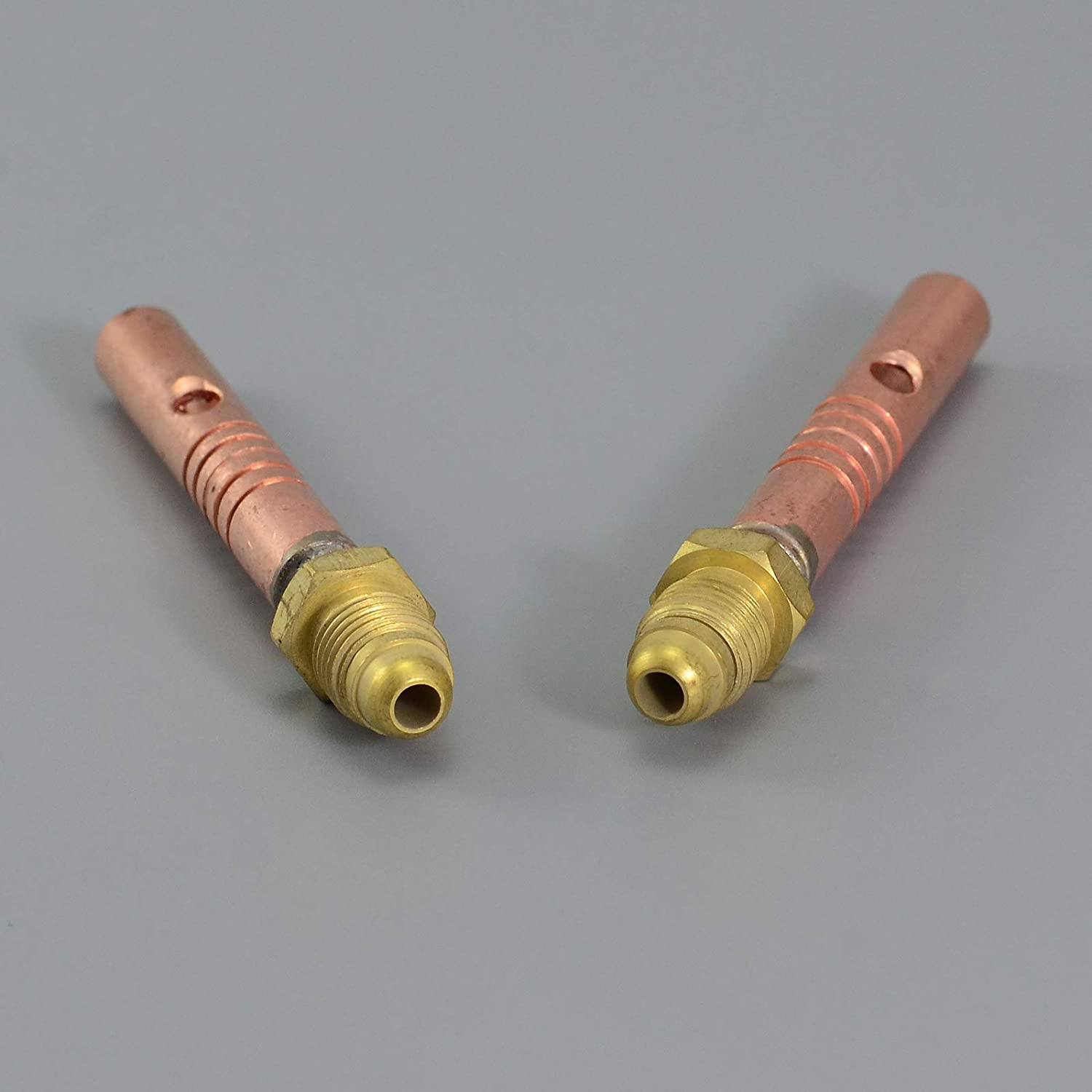 2pcs Replacement 57Y10 Gas/&Power cable Adapter WP-9 17 24G 24W TIG Welding Torch
