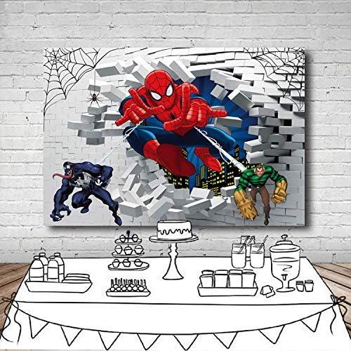 Spider Man Publishing Arte Fiesta de Cumpleaños GAMA Vajilla /& Decoraciones Servilletas
