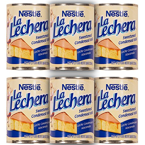 La Lechera Sweetened Condensed Milk (7 Ounce (Pack of 6)) by La Lechera