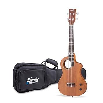 eleuke r22tmslt Smart Bluetooth ukelele eléctrico (equipado eleuke: Amazon.es: Instrumentos musicales