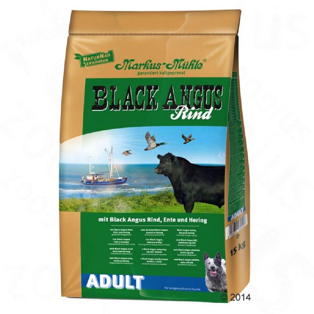 15kg PaylesswithSS Black Angus Adult Dry Dog Food (15kg)