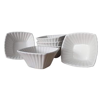 ToCi - Juego de Cuencos para Salsas (cerámica, 9 x 9 x 4 cm