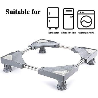 Base ajustable móvil multifuncional SMONTER, con 4patas fuertes y ruedas,