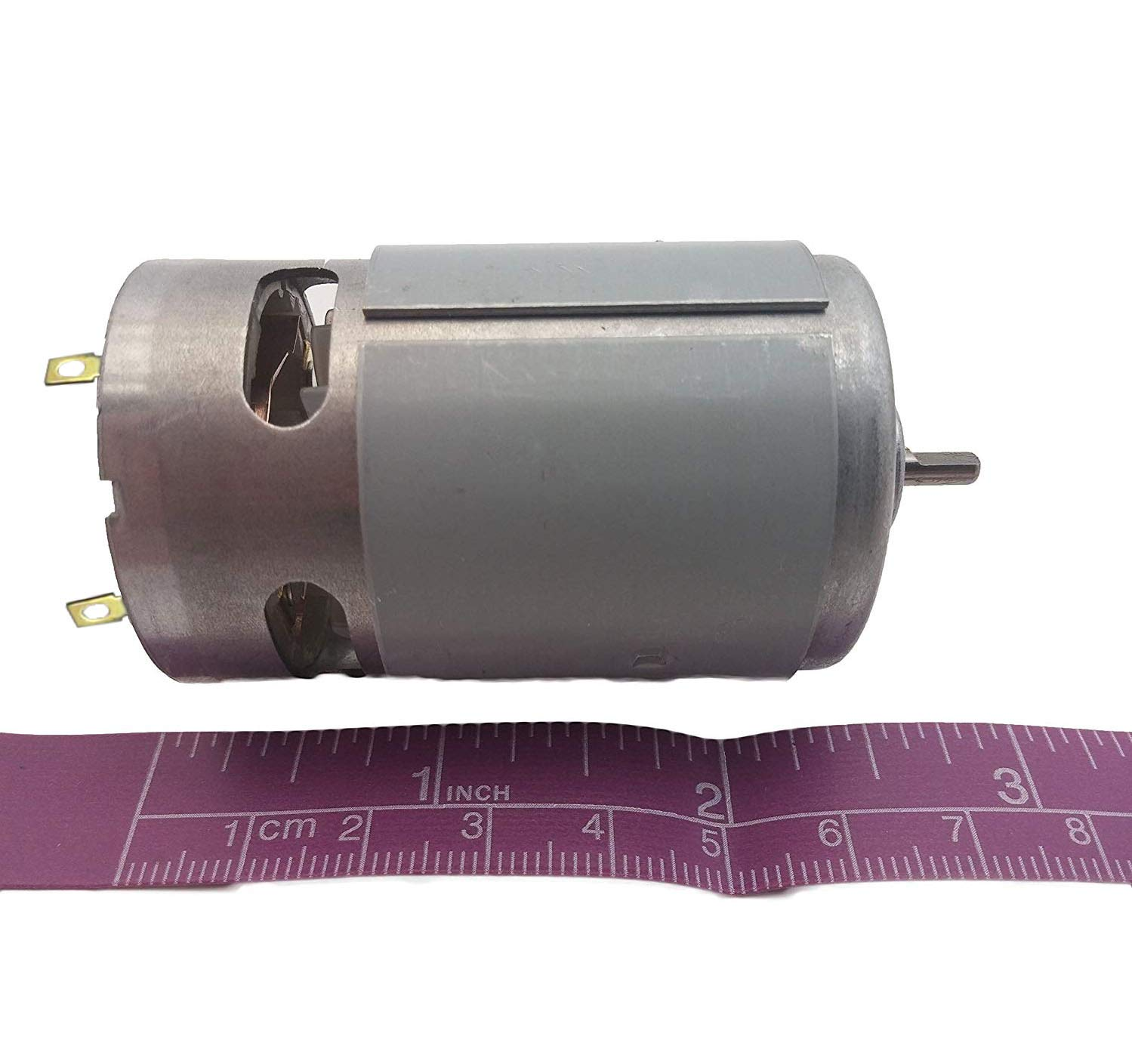 18v DC Motor Drill RC 550 Brushless Fan Cooled High Torque