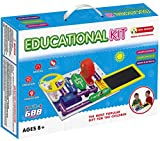 Liyic DIY Build 1000 Science Experiments For Kids,Solar Circuits for Kids,Hand Crank Generator Kids Circuit Kit,Kids Circuits, Electronics Discovery Kit,Educational Science Kit Toy,Circuit Kit for Kid