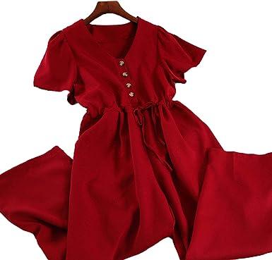 dresses Korean Casual Vintage Jumpsuits New 2021 high