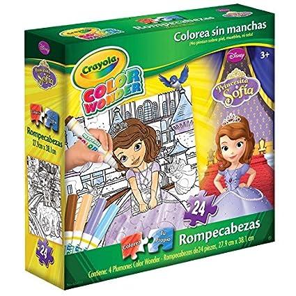 Novelty Rompecabezas de Actividades Crayola Color Wonder Princesa ...