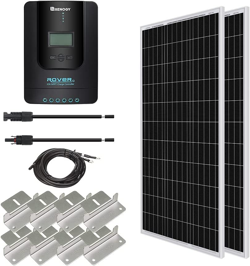 200Watt Powerful 12V System Kit /& 20A CMG Controller for Boot Camping Wandern