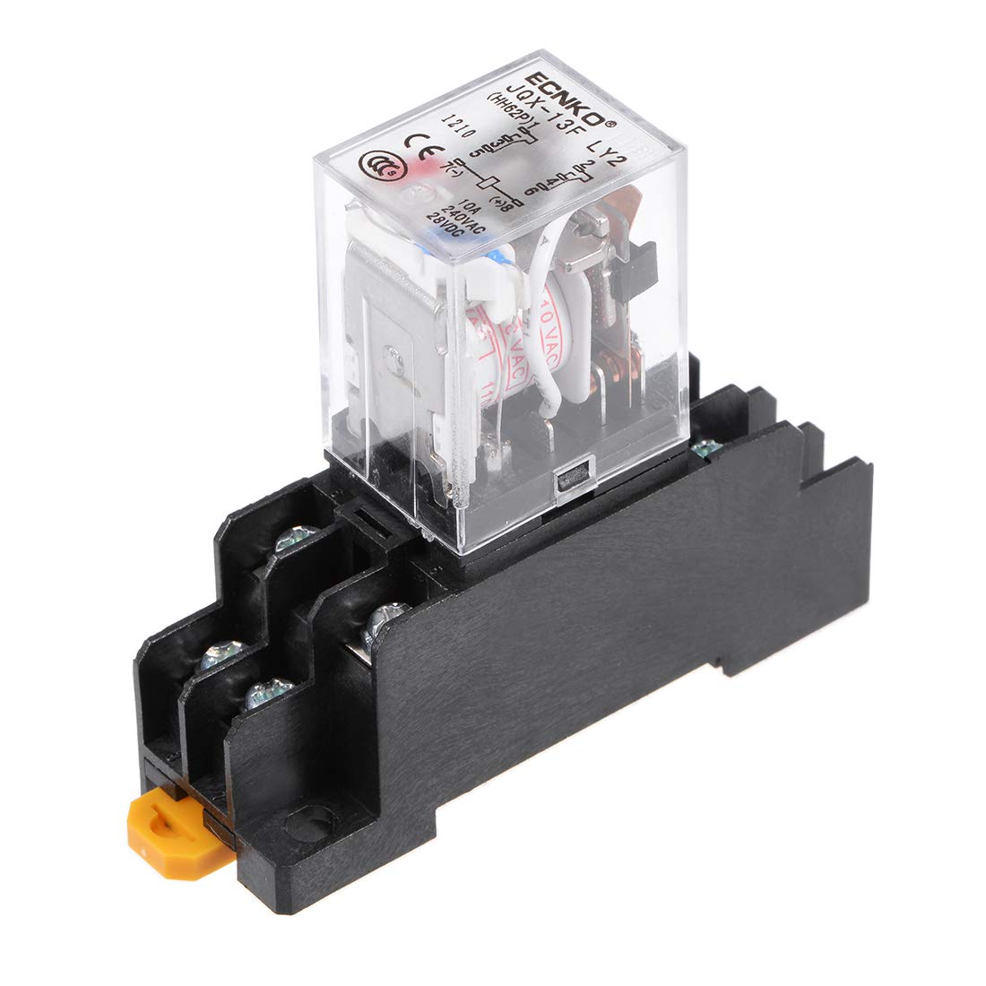 Best Rated In Solid State Relays Helpful Customer Reviews Electrical Relay Application Uxcell Jqx 13f Ac110v Coil Dpdt 8pins Red Light Electromagnetic Power Scoket Product
