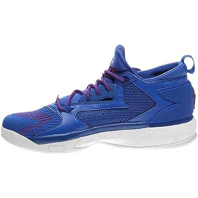 12831d0379f9 adidas Sm D Lillard 2 PK NCAA Blue Red White 12