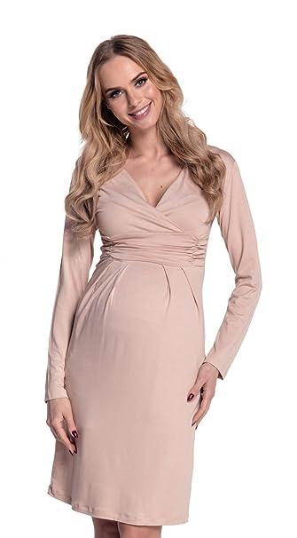 Happy Maternidad Mama Mujer vestido cabe en todas las Fases el embarazo 285p crudo 42