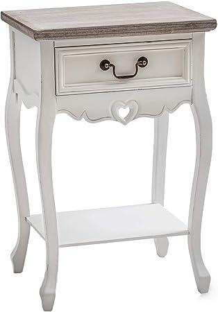 Juliette Shabby Chic Vintage Style Lamp End Table Under shelf Living room UK