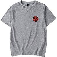 FREW Camiseta de verano unisex Itachi de manga corta para hombre y niño, diseño de Naruto T-Shir