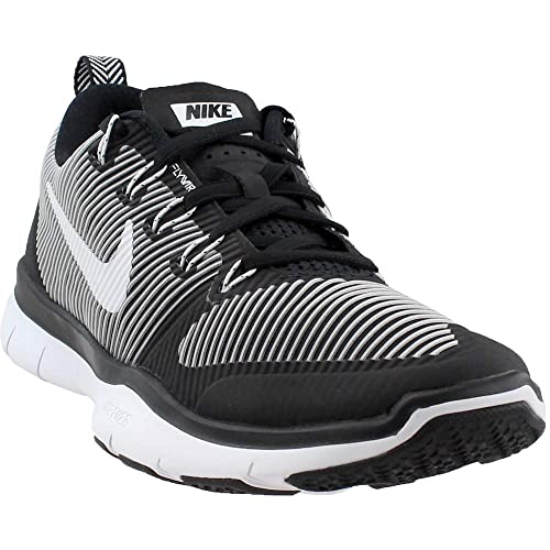 a2c50ef3a2208 Nike Men s Free Train Versatility Training Shoe Black White Size 10 M US   Buy Online at Low Prices in India - Amazon.in