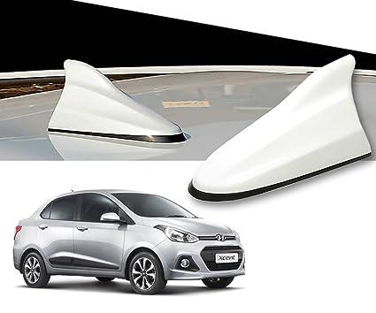 Auto Pearl White Shark Fin Signal Receiver Antenna For Hyundai Xcent