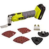 Cordless Oscillating Tool Kit with 15Pcs Accessories for Home Sanding, Cutting and scraping, Multi-Function Tools 15000…
