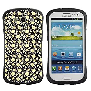 ArtSpace Premium Hybrid Back Case Cover Samsung Galaxy S3 III i9300 ( Kettle And Teacup )