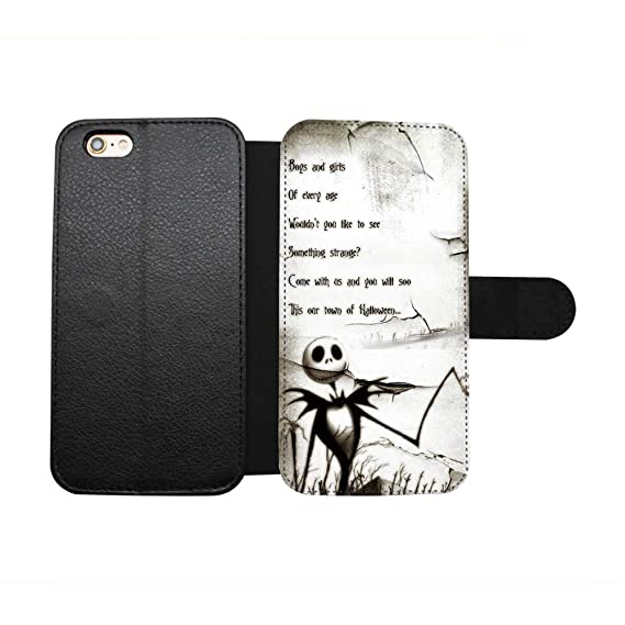 562e115e89b267 The Nightmare Before Christmas Quote Case for iPhone 6 6S (4.7 Inch) PU