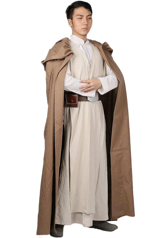 Amazon.com: xcostume actualizado Luke túnicas Cape Cinturón ...