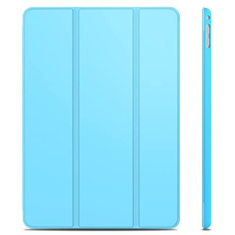 iPad Air 2 Case, JETech Case Cover for Apple iPad Air 2 (iPad 6) 2014 Model Lightweight Stand with Auto Wake / Sleep (Blue) - 3042