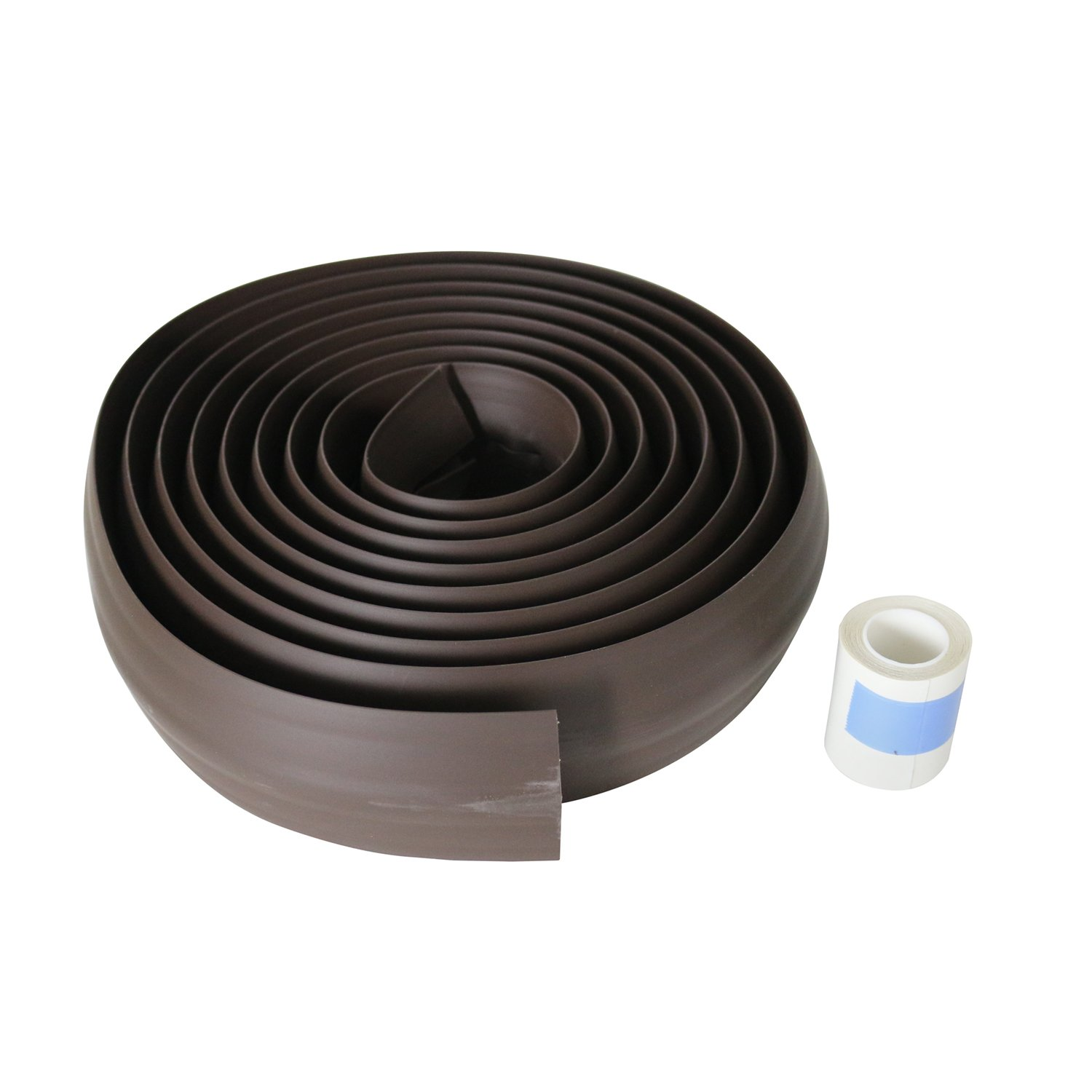 Legrand - Wiremold CDB-15 Corduct Overfloor Cord Protector-  Rubber Duct Floor Cord Cover, Brown, 15 Feet (180 Inches)