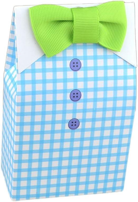 Jungen 50pcs Caja de gominolas – Bombonera de Tie corbata para ...