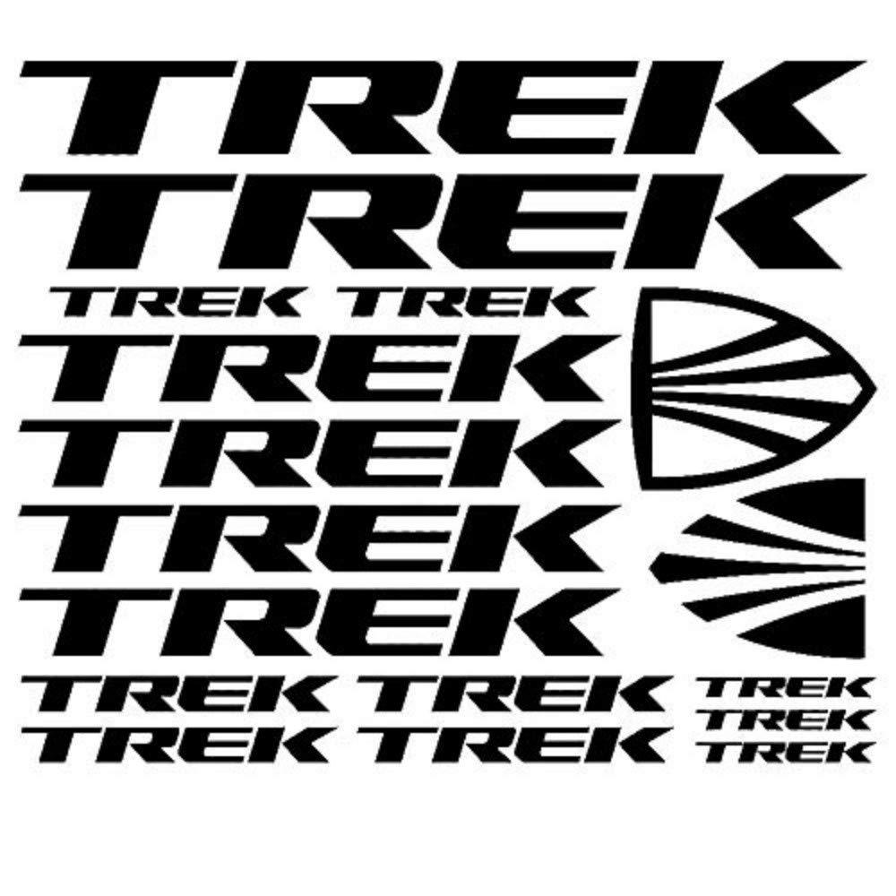 for TREK Bicycle Vinyl Die-Cut Sticker Kit Decal Funny JDM Mountain Bike Race Fit car sticker car styling decorative car body sticker