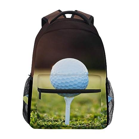 Amazon.com  WXLIFE Sport Golf Ball Pattern Sky Backpack Travel ... 8d7f6ece6