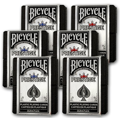 Bicycle Prestige Cards - 6 Decks (Prestige Bicycle Cards)