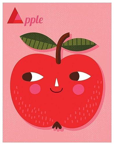 A is for APPLE Print // Apple Alphabet Print // Apple Wall Art ...