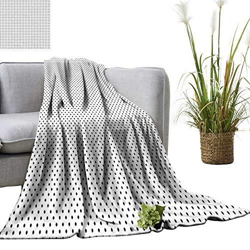YOYI Bed Blanket Classy Retro Vintage Polka Dots 70s 60s Ins