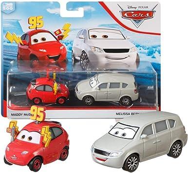 Disney Selección Doble Pack Cars | Modelos Vehículos 2020 | Cast 1:55 | Mattel, Cars Doppelpacks:Maddy McGear & Melissa Bernabrake: Amazon.es: Juguetes y juegos