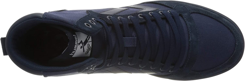 Hummel Men's Hi-Top Trainers Blue Dress Blues 8628