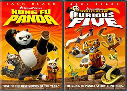 Amazon Com Kung Fu Panda Secrets Of The Furious Five Two Disc