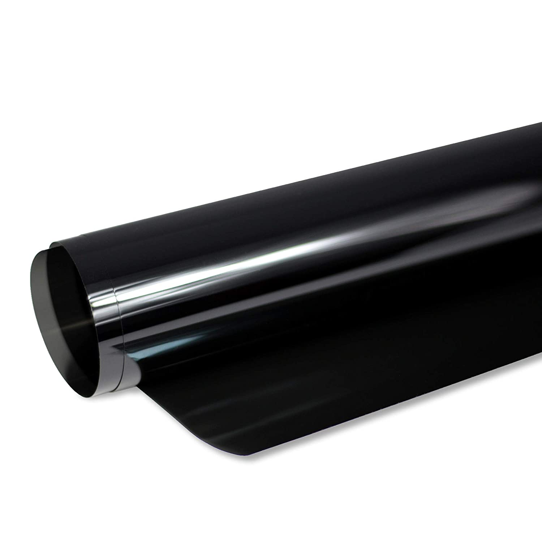 76 cm Breite inkl Solar Screen/® PANTHERA Scheibent/önungsfolie 265 C T/önungsfolie f/ür Auto Scheiben 65/% Schwarz ABG