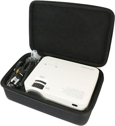 para db DBPOWER Proyector T20 Mini Proyector LCD de 1500 Lúmenes ...