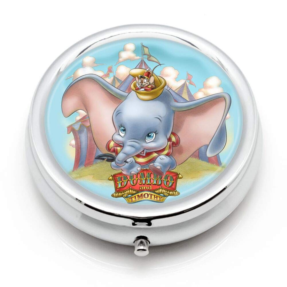 DISNEY COLLECTION Pill Case Disney Dumbo 3 Sets Water Rust Proof Travel Portable Daily Medicine Pill Box