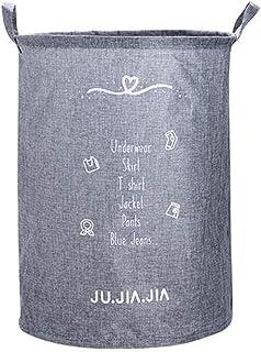 HLHHL-Storage Bag Sacchetto di Immagazzinaggio Cesto Cotone Cestino Pieghevole per Biancheria da Letto Balcone