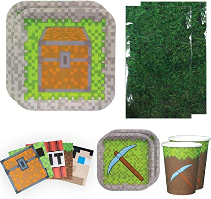 Amazon.com: Blue Orchards Mining Fun Deluxe Party Packs (70 ...